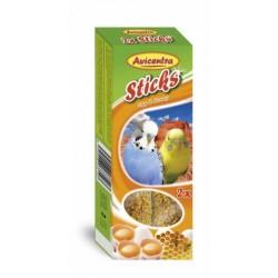 AVC Tyčinky pre andulky-vajce+med 2ks