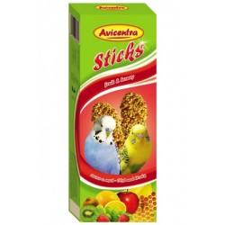 AVC Tyčinky pre andulky-ovocie+med 2ks