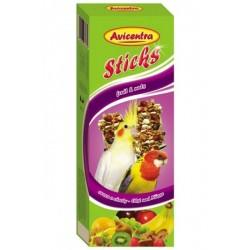 AVC Tyčinky pre malé pap-ovocie+orec 2ks
