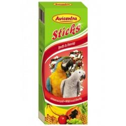 AVC Tyčinky pre velké papág-med+ovoc 2ks