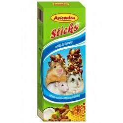 AVC Tyčinky pre m.hlod-orech+kokos 2ks