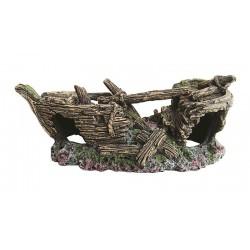 Vrak lode 18cm - akva. dekorácia