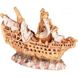 Vrak lode 6.5cm - akva. dekorácia