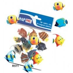 Plastové rybki 3cm - akva. dekorácia
