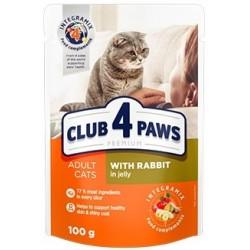 C4P cat králik v želé 100g