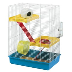 CAGE HAMSTER TRIS WHITE