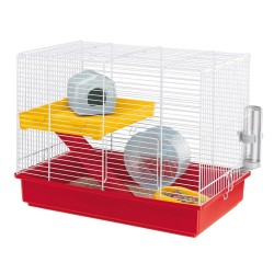 CAGE HAMSTER DUO WHITE