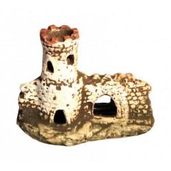 Ruina HRADBY 12cm - akva. dekorácia